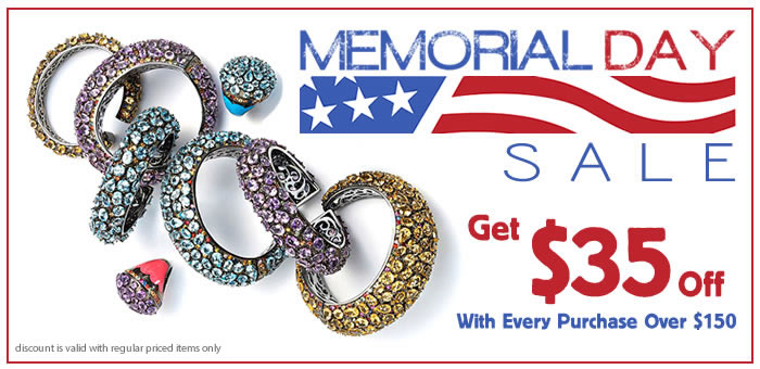 memorial day sale get 35 off with every purchase over