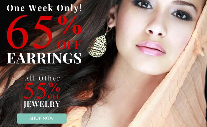 All Jewelry 55% OFF & Earrings 65% OFF