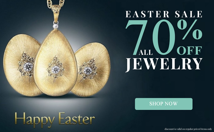 Easter SALE! All Jewelry 70% OFF