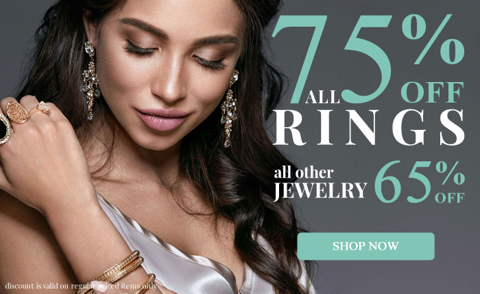 All Rings 75% OFF & more...