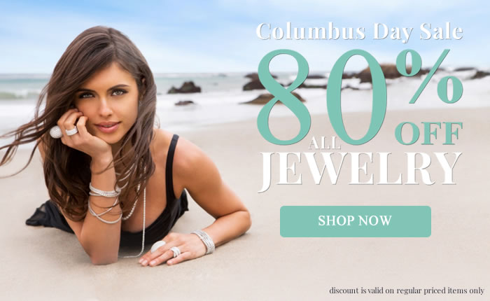 Columbus Day SALE! All Jewelry 80% OFF