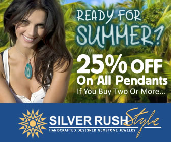 25% OFF on ALL Pendants if You Buy Two or More at www.SilverRushStyle.com