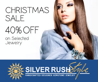 Christmas SALE - 40% OFF on Selected Jewelry at www.SilverRushStyle.com
