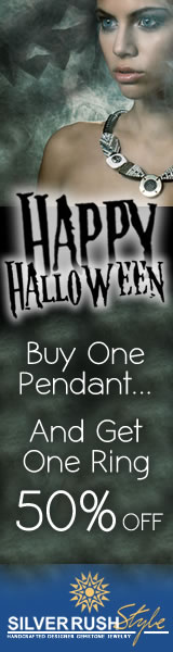 Buy One Pendant and Get One Ring 50% OFF at www.SilverRushStyle.com