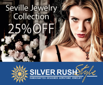 Seville Jewelry Collection 25% OFF at www.SilverRushStyle.com