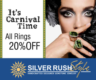It's Carnival Time - ALL Rings 20% OFF at www.SilverRushStyle.com