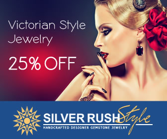 Victorian Style Jewelry 25% OFF at www.SilverRushStyle.com