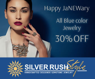 Happy JaNEWary - All Blue Color Jewelry 30% OFF