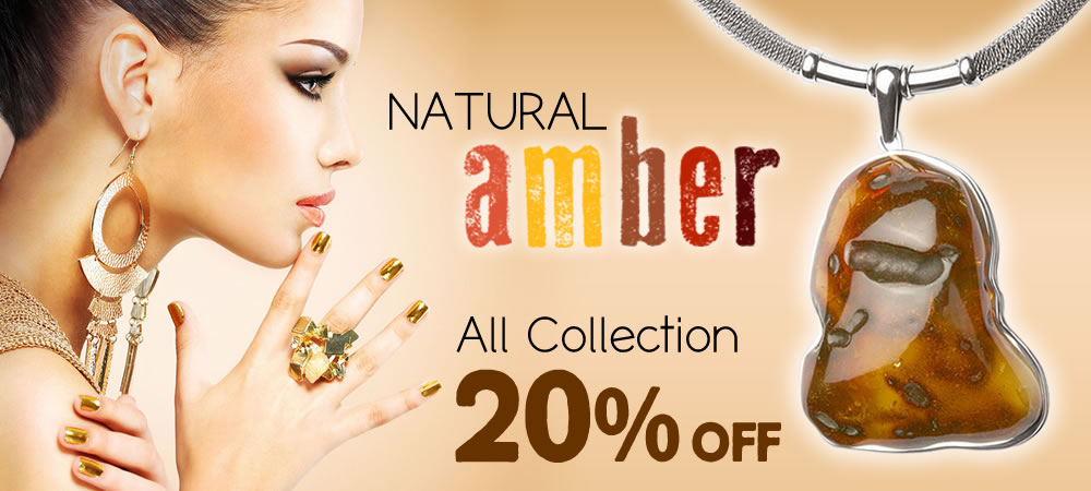 Natural Baltic Amber 20% OFF