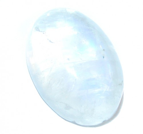 Petite Fire White Moonstone 5 ct Stone