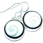 Simple Beauty Shell Sterling Silver earrings