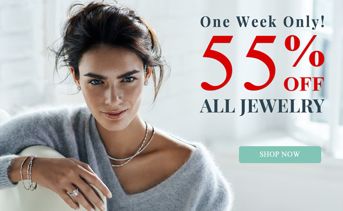 One Week Only - All Jewelry 55% OFF