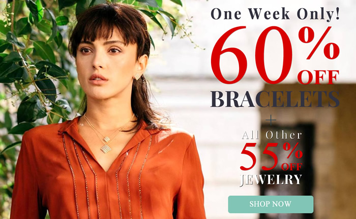 One Week Only - All Bracelets 60% OFF & more...