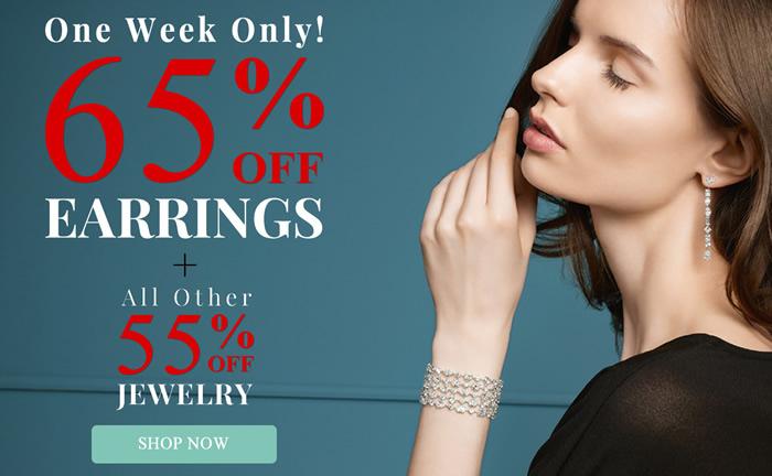 All Earrings 65% OFF