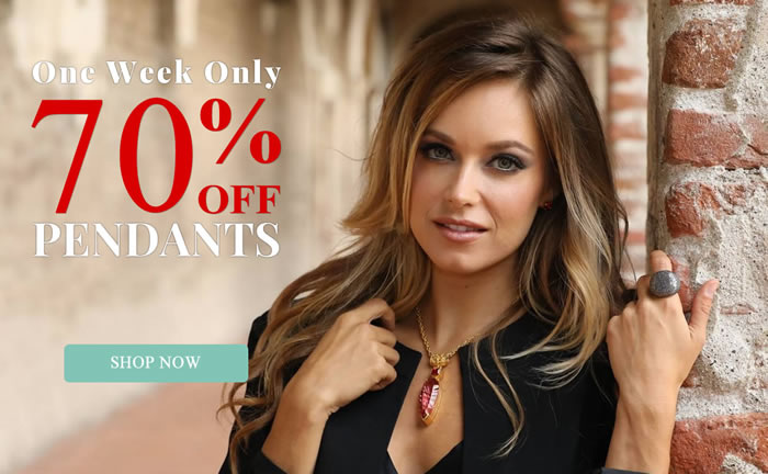 One Week Only - All Pendants 70% OFF