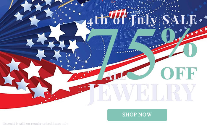 Happy 4th of July! All Jewelry 75% OFF