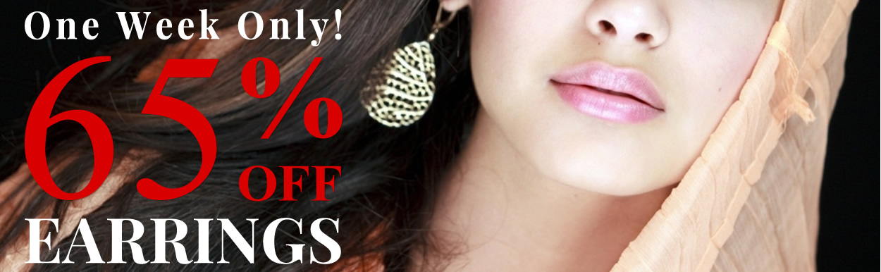 All Jewelry 55% OFF & Earrings 65% OFF