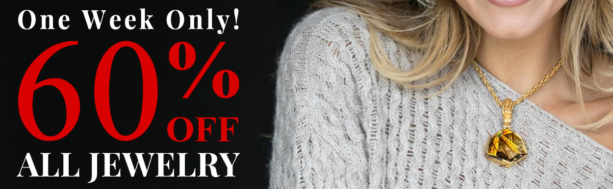 All Jewelry 60% OFF