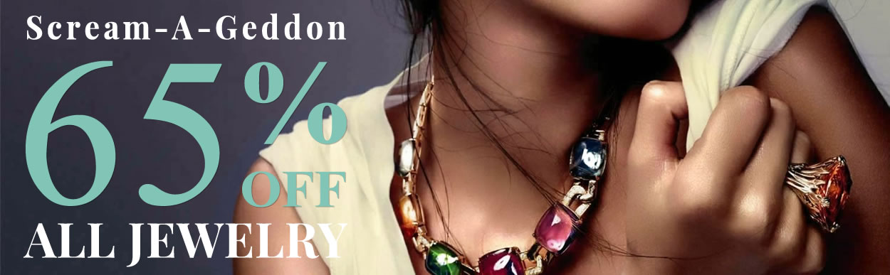 Scream-A-Geddon - All Jewelry 65% OFF