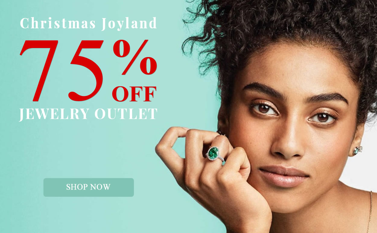 BLACK WEEKEND - Jewelry Outlet 75% OFF