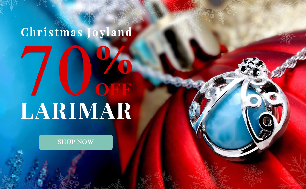 Christmas Joyland - Larimar Jewelry 70% OFF