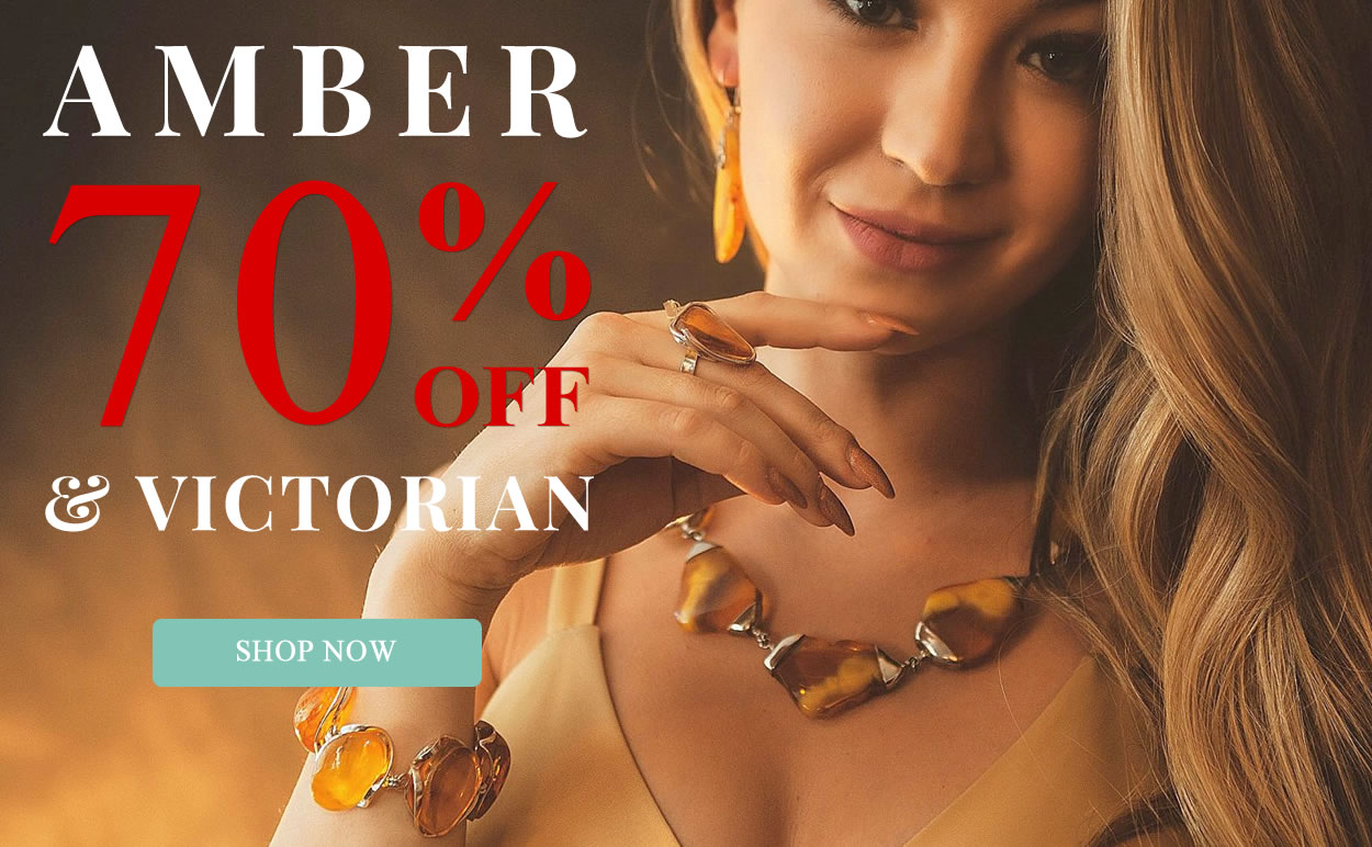 Amber & Victorian JEwelry 70% OFF