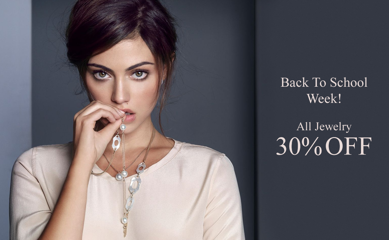 Back to School SALE - ALL Jewelry 30% OFF