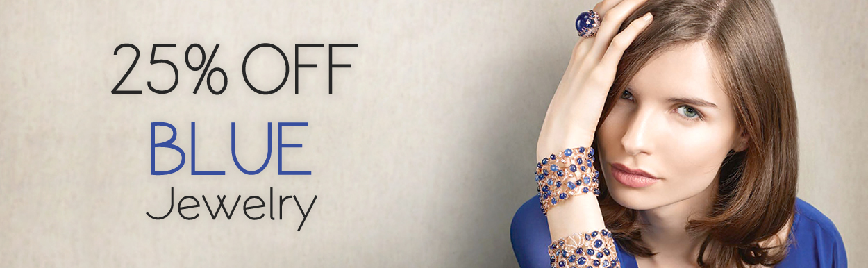 25% OFF on ALL Blue Color Jewelry