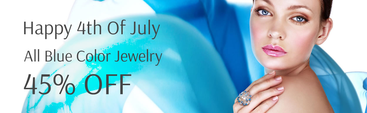 All Blue Color Jewelry 45% OFF