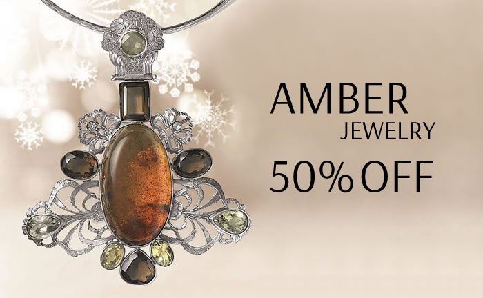 All Amber Jewelry 50% OFF