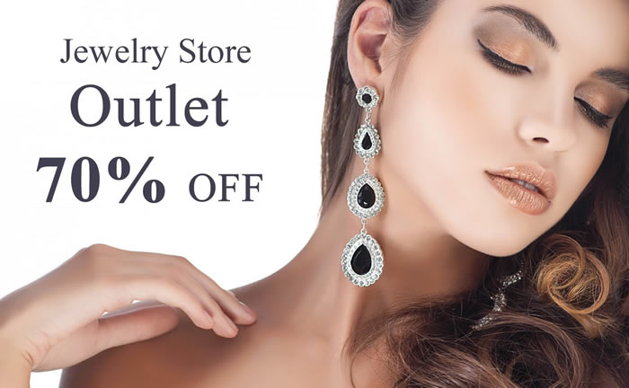 Jewelry Store Outlet 70% OFF