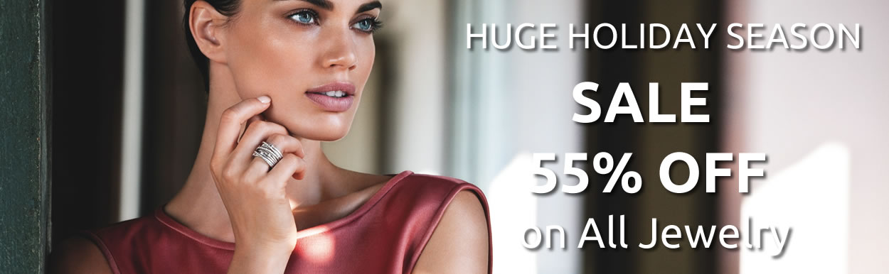 HUGE HOLIDAY SEASON SALE 55% OFF on All Jewelry