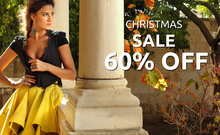 Christmas SALE 60% OFF