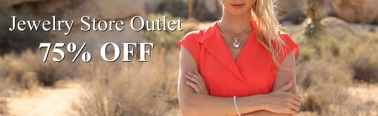 Jewelry Store Outlet 75% OFF
