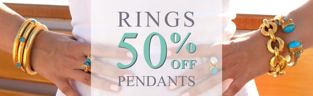All Rings & Pendants 50% OFF