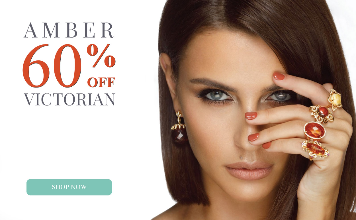 Victorian & Amber Jewelry 60% OFF
