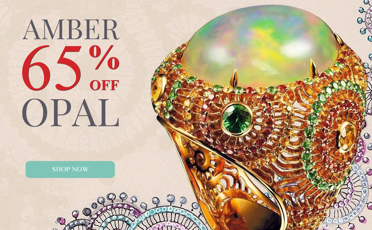 All Amber & Opal Jewelry 65% OFF