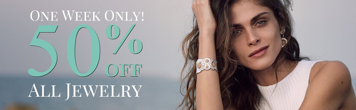 One Week Only - ALL JEWELRY 50% OFF
