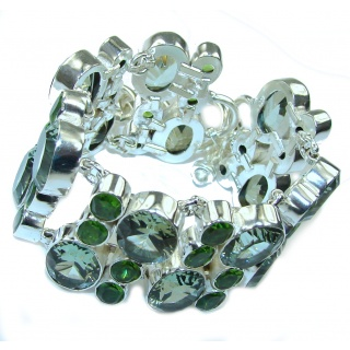 Mint Energy Magic Topaz Sterling Silver Bracelet