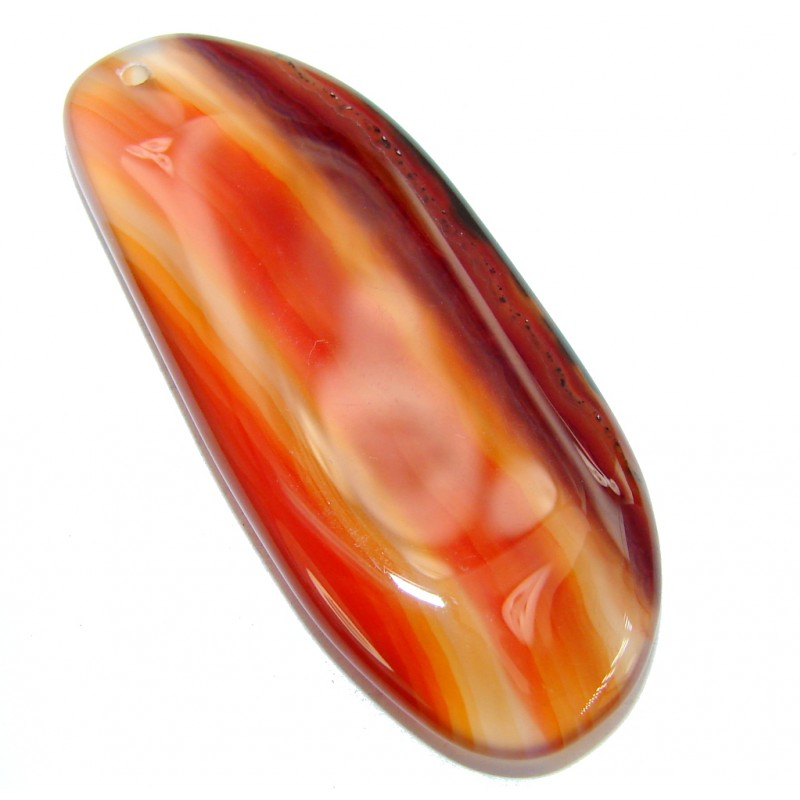 Secret Beauty Light Orange Agate 57.5ct Stone
