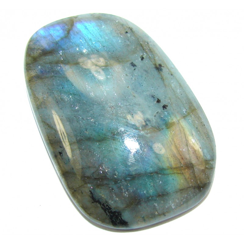 Natural AAA Fire Blue Labradorite 42.5ct Stone