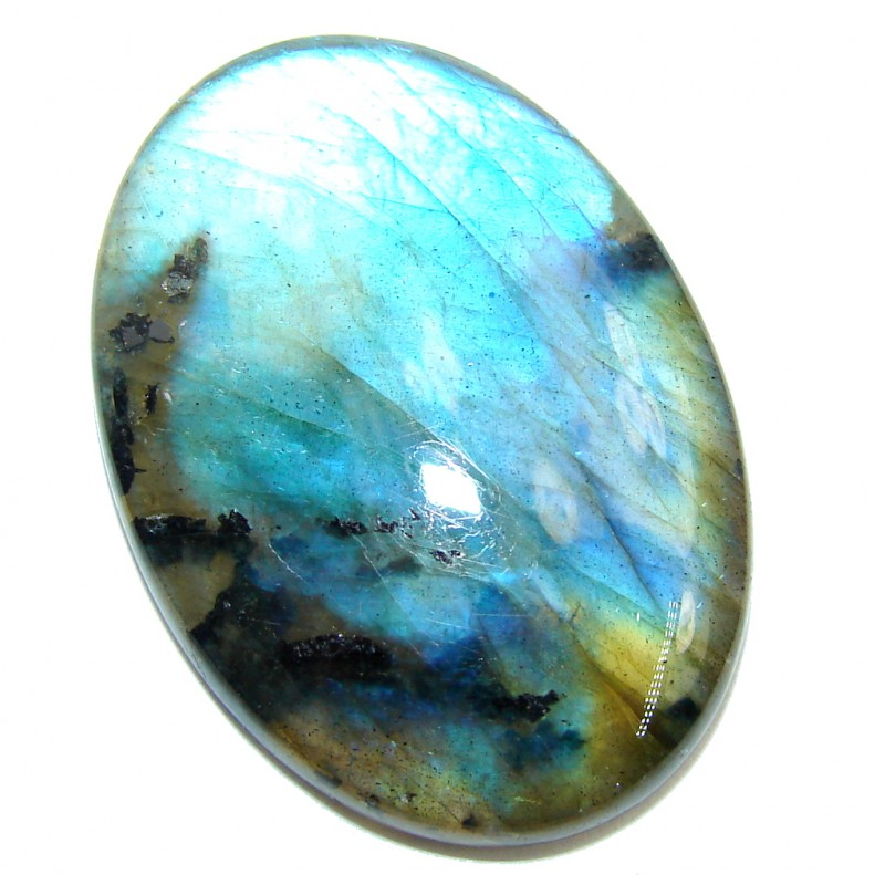 Natural AAA Fire Blue Labradorite 40.5ct Stone