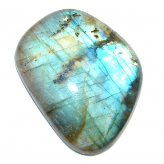 Natural AAA Fire Blue Labradorite 32.3 ct Stone