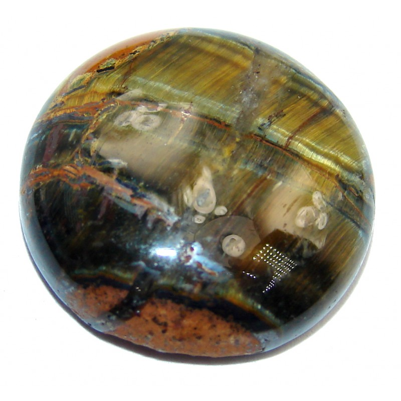 Amazing Iron Brown Tigers's Eye 20.5ct Stone