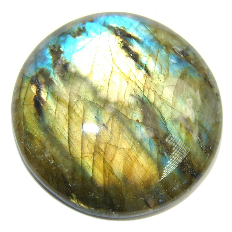Natural AAA Fire Blue Labradorite 46.3 ct Stone