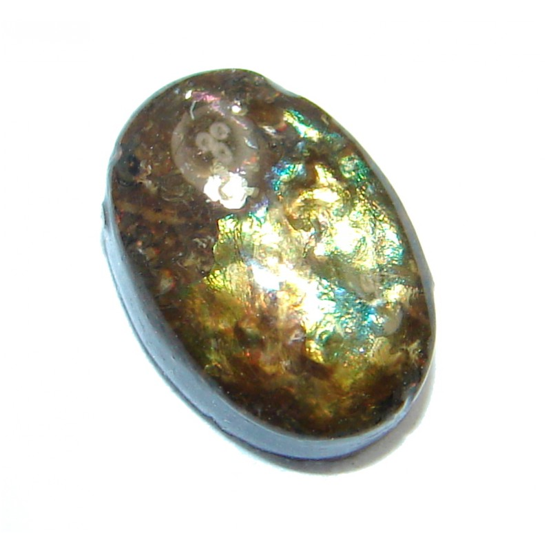 Natural Canadian Dragon's Skin Ammolite 3.2ct Stone