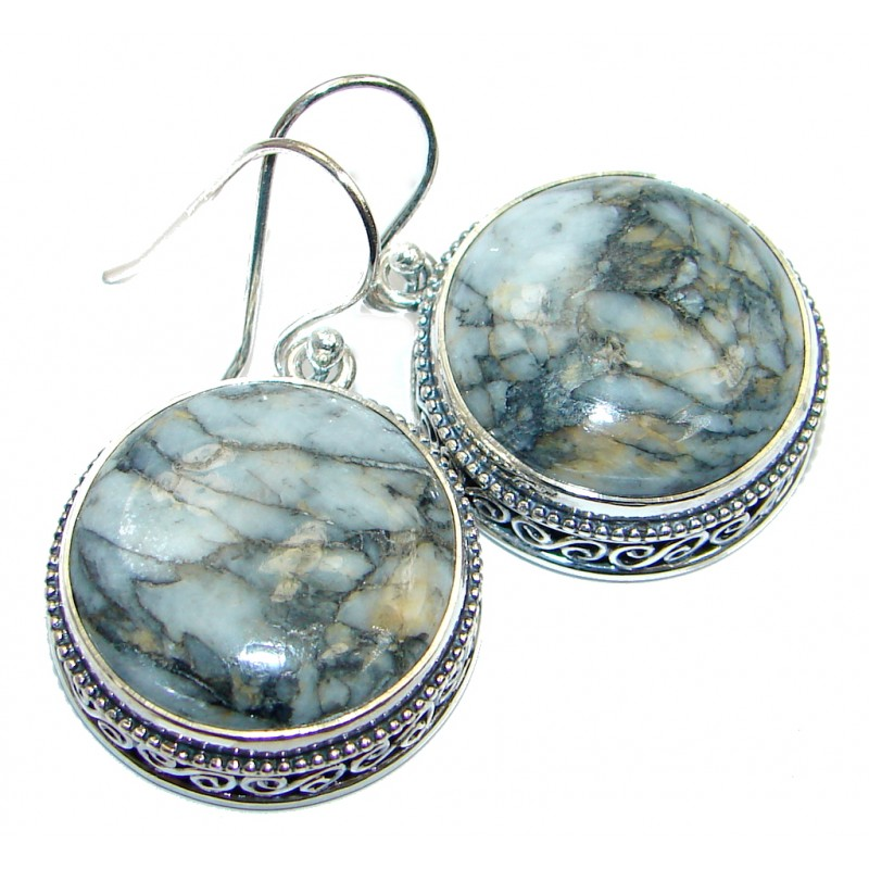 Sublime Picasso Jasper Sterling Silver earrings