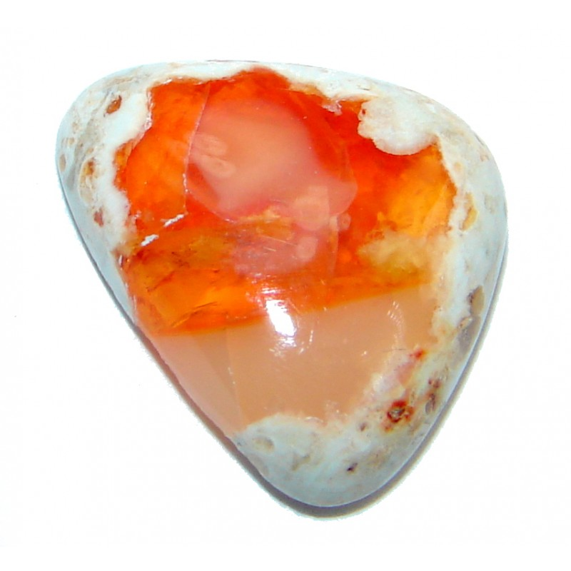Genuine Mexican Fire Opal 4.9 ct Stone