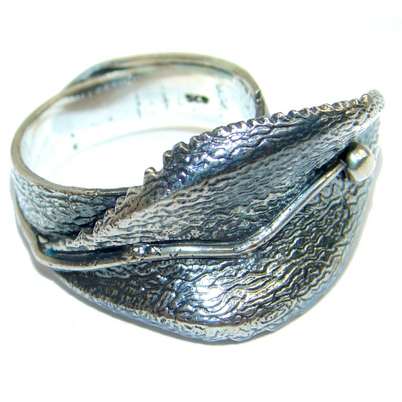 Great Italy made Sterling Silver ring; s. 7
