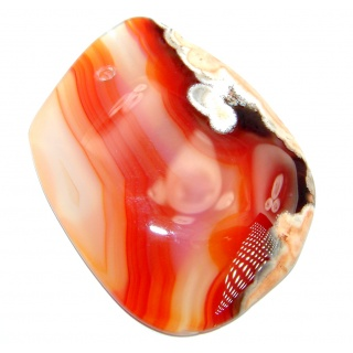 Natural Botswana Lace Agate 95.5ct Stone